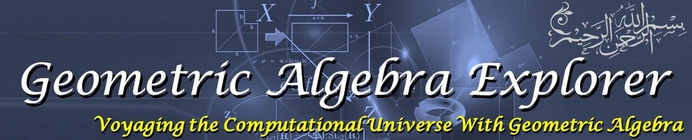 Geometric Algebra Explorer